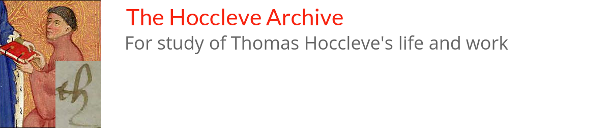 The Hoccleve Archive